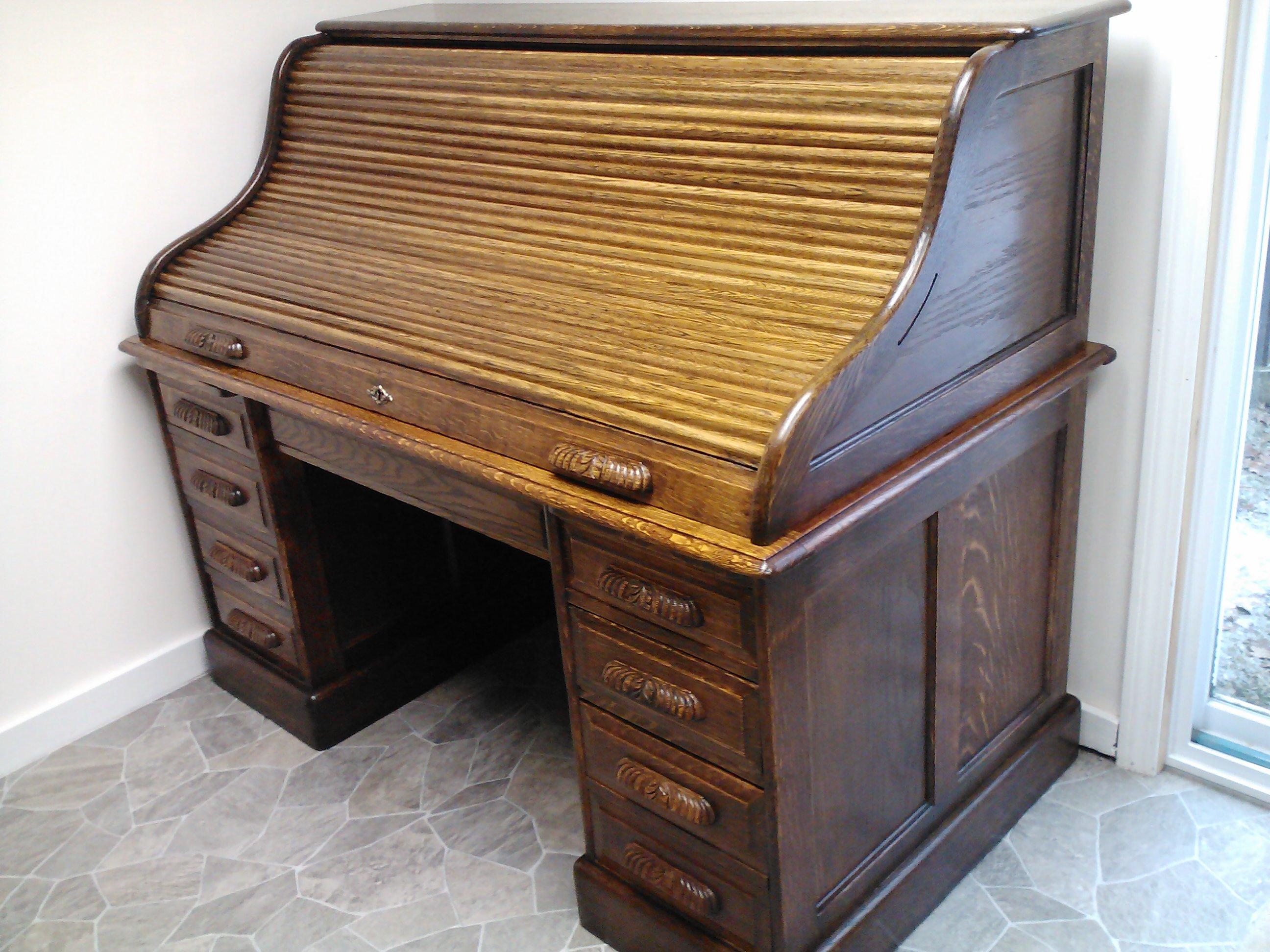 1780 S Gany Desk 1880 Oak Rolltop